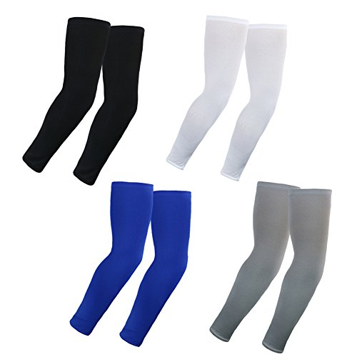 Cool Seamless UV Protect Arm Sleeves 4 pairs bunlde pack Arm cooling Sleeves