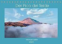 Der Pico del Teide - Michael Jaster (Tischkalender 2022 DIN A5 quer): Dieser Fotokalender zeigt Ihnen, die beeindruckend und nicht reale Landschaft um den Vulkan Pico del Teide. (Monatskalender, 14 Seiten )