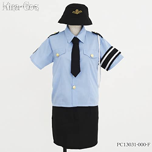 Kirakosu Police Girl Costume Ladies' one-Größe-fits-all PC13031E