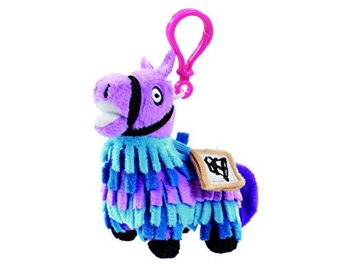 Fortnite FRT08101 Plüsch-Lama-Schlüsselanhänger, Mehrfarbig