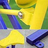 WXH Multifunktions-Rudergerät Rudergerät, Cardio- und Vollarm-Trainings-Fitnessgerät, Hochwertiger Stahl, Ganzkörper-Fitnessgerät für zu Hause - 4
