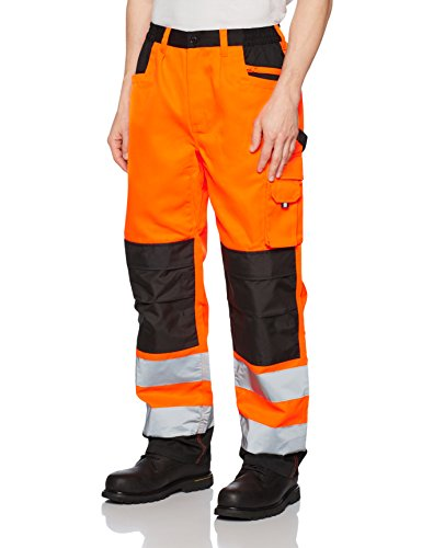 Result Safe Guard Cargo Trousers Pantalones, Orange (FLO Orange), M para Hombre