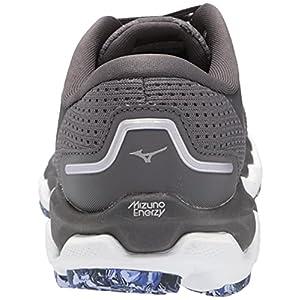Mizuno Women's Wave Horizon 5 Running Shoe, Blackened Pearl, 7.5