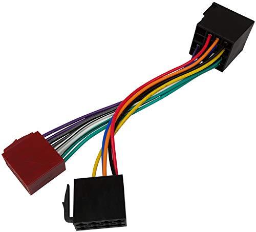 AERZETIX- Adattatore convertitore cavo di collegamento per autoradio con spina ISO - C40116