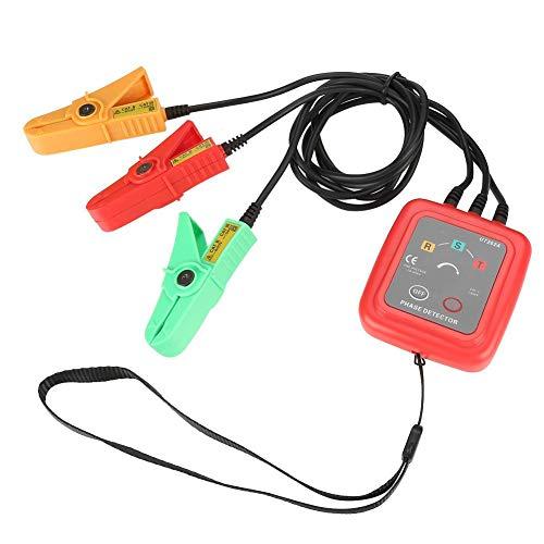 Akozon Phasendetektor UNI-T UT262A Berührungslose Phasendetektoren 3-phasige Stromkreisunterbrechungserkennung 70-600V Fehlende Phase,Spannung,Unterbrechung, Stromüberwachung Detektor