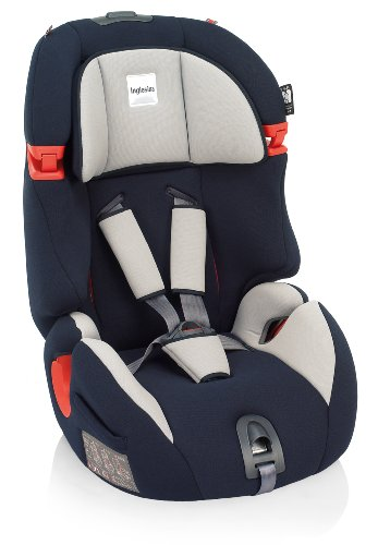 Inglesina Prime Miglia 1-2-3 (9-36 kg, 9 meses - 12 años) Azul - Silla de coche (1-2-3 (9-36 kg, 9 meses - 12 años), 5 puntos, Azul, ECE44 / 04, 450 mm, 700 mm)