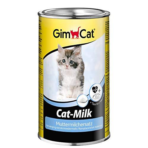 GimCat Cat-Milk Muttermilchersatz - Vitaminreiche Katzenmilch mit Taurin und Calcium - 1 Dose (1 x 200 g)