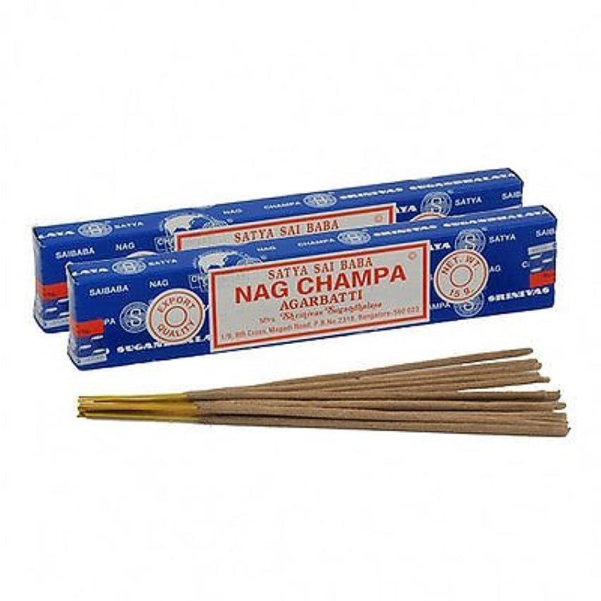 スナップ中庭みぞれSatya Sai Baba Nag Champa Incense 180?gm ( 15g12?)