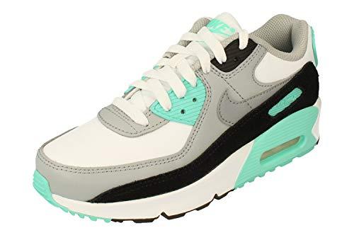 Nike Kinder Air Max 90 LTR (GS) Sneaker Weiß 36