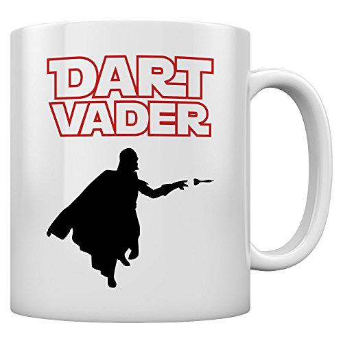 Shirtgeil - Geschenk Tasse Dart Vader Kaffeetasse Tee Tasse Becher 11 Oz. Weiß