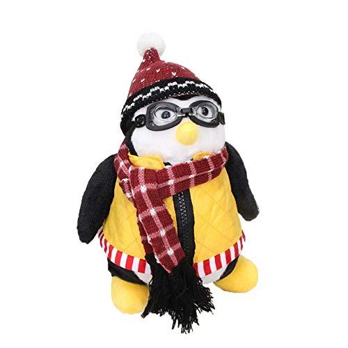 Luminous1128 Plüsch Pinguin Spielzeug 10
