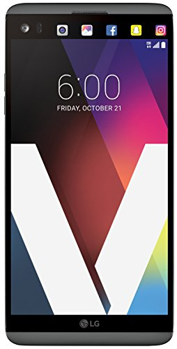 LG Electronics V20 64GB GSM Phone Titan Grey Factory...
