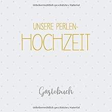 Unsere Perlen Hochzeit Gästebuch Erinnerungsalbum Zur