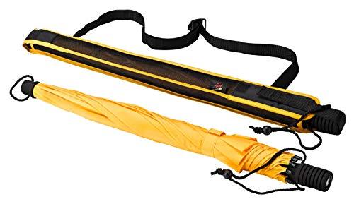 Euroschirm Swing Flashlite der Sonnen-, Wander-, Regen- & Trekkingschirm Farbe gelb