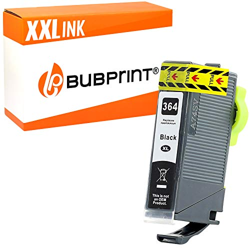 Bubprint Druckerpatrone kompatibel für HP 364 XL 364XL für DeskJet 3070A 3520 OfficeJet 4620 4622 PhotoSmart 5510 5520 5524 6510 6520 7510 7520 B109-a B110 B110a C310a Schwarz