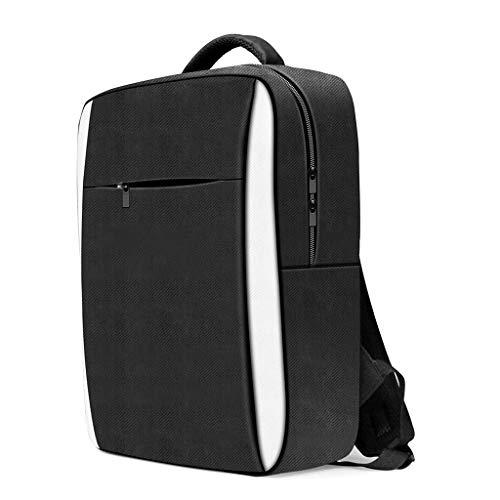 Xueebaoy Bolsa de armazenamento de viagem para console PS5, mochila protetora de ombro para jogo
