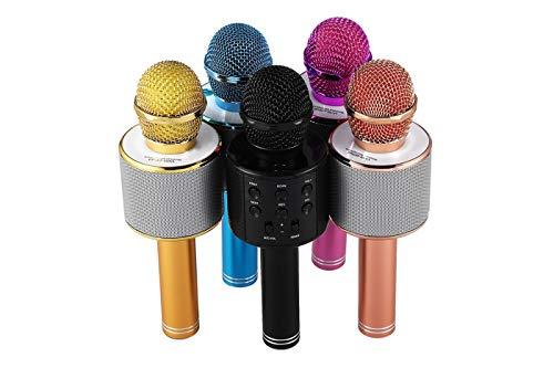 TEMPO DI SALDI Microfono Wireless + Altoparlante Cassa Integrata Bluetooth Portatile X Karaoke