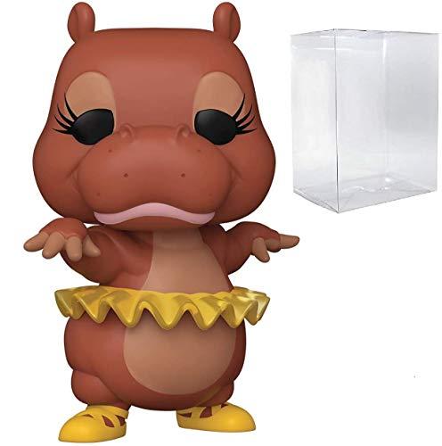 Funko Pop! Disney: Fantasia 80th Anniversary - Figura de vinilo de hipopótamo (funda protectora de caja de pop)
