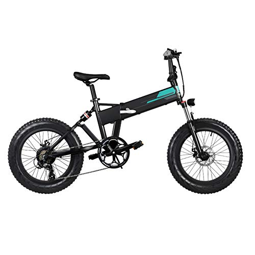 Bicicletta Elettrica Bicicletta Elettrica Pieghevole in Alluminio da 20x4 Pollici Bicicletta Elettrica a Batteria di Grande capacità 36V 12,5 Ah(3~7 Giorni Arrivati)