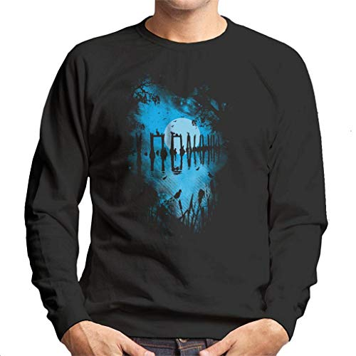 Cloud City 7 Reflectie Moonlit Lake Heren Sweatshirt