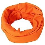 Nuevo bebé Street Dance Hip Hop Sombrero Primavera otoño bebé Sombrero Bufanda para niños niñas Gorro de Punto Invierno cálido Color sólido niños Sombrero-Orange scarf-0-4 Years