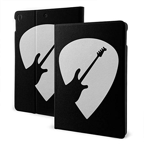 Case for iPad Sally Retro Guitar Lover Gifts PU Leather Business Folio Shell Cover with Stand Pocket and Auto Wake/Sleep for iPad Air 10.5'