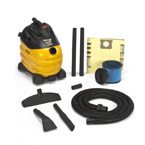 Shop-Vac 5873410 6.5-Peak Horsepower Right Stuff Wet/Dry Vacuum 10-Gallon