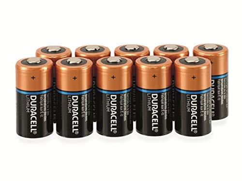 Duracell Lithium-Batterie Typ CR 17345, 1.400 mAh,, 10er-Pack