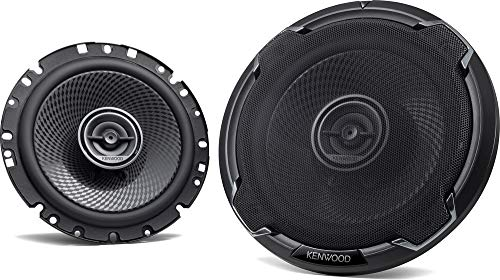 Black Pair Kenwood KFC-X463C Excelon 4x6 2-Way Speaker System