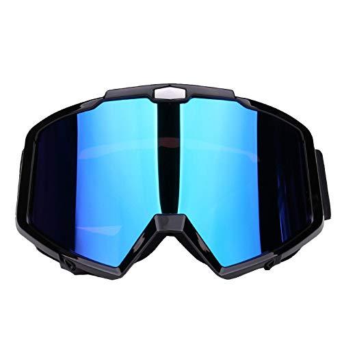 occhiali da sole polarizzati antiriflesso a spe... SPXMX Occhiali da moto occhiali da fuoristrada occhiali antipolvere antipolvere