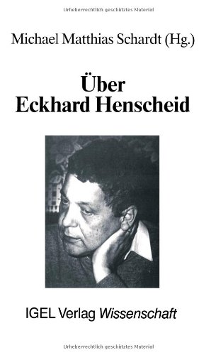 Über Eckhard Henscheid: Rezensionen und Porträts