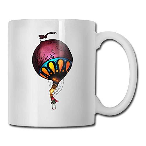 N\A Circa Survive Mug Taza de café Taza de té Tazas de Vino Novedad Taza Divertida Tazas de cerámica Blanca Taza Grande con asa en C Taza de impresión a Doble Cara