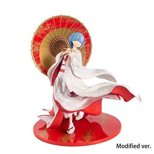 Re: Het leven in een andere wereld van nul: Figuur Kimono Rem (Rem) - PVC Model Toy Figuur -11,41