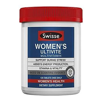 Swisse Premium Ultivite Daily Multivitamin for Women Tablets 120 Count