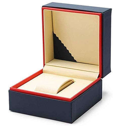 SHYPT Holzuhr Box Premium Glänzend Holz Armbanduhr/Armreif Kissenbekiste Großes Geburtstagsgeschenk Party Geschenk