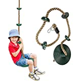 M/P Cuerda de Escalada para niños con Plataformas y Asiento de Columpio de...