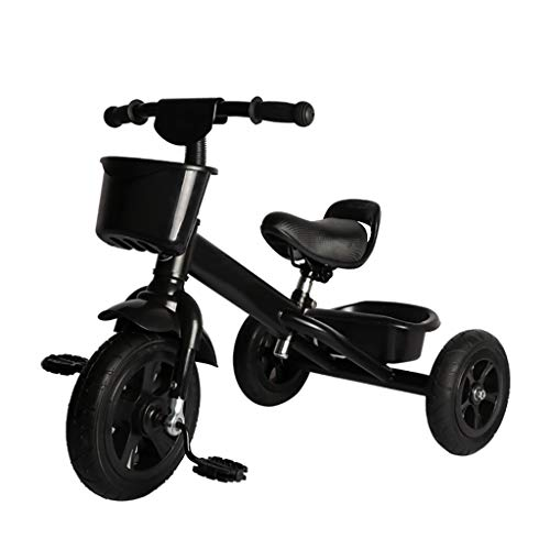 NBgy driewieler, voor kinderen 2-in-1 multifunctionele driewieler stoel verstelbaar, 2-5 jaar oude baby outdoor driewieler, 4 kleuren, 60x48x76cm