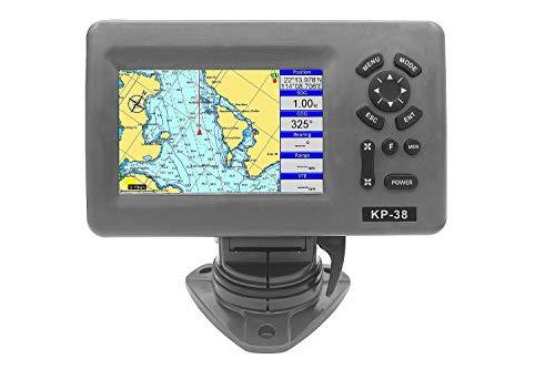 Compass Farbkartenplotter mit Farb-LCD-Display, AIS-fähig, wasserdicht nach IPX5 Maße in cm 19x25x15, Typ KP39, Displaygröße in Zoll 7