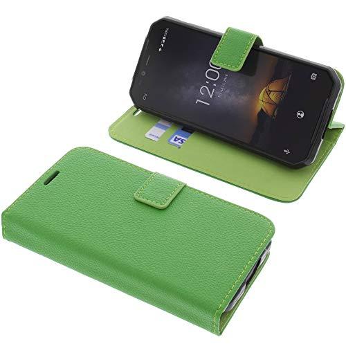 foto-kontor Tasche für Oukitel WP1 Book Style grün Schutz Hülle Buch