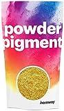 Hemway Pigment de couleur en poudre ultra brillant et métallique pour résine époxy et peinture polyuréthane., or