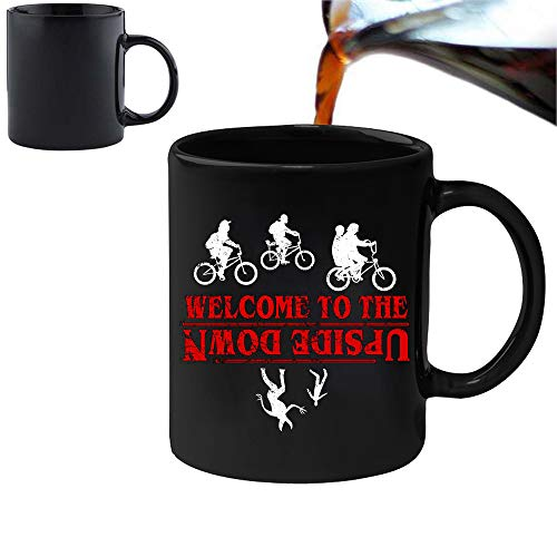 Stranger things Inspired–Welcome to the upside down–Magic Morphing mug 311,8gram Ceramic Coffee Tea mug–perfetto San Valentino/Pasqua/estate/Natale/compleanno/Anniversary Gift by Acen
