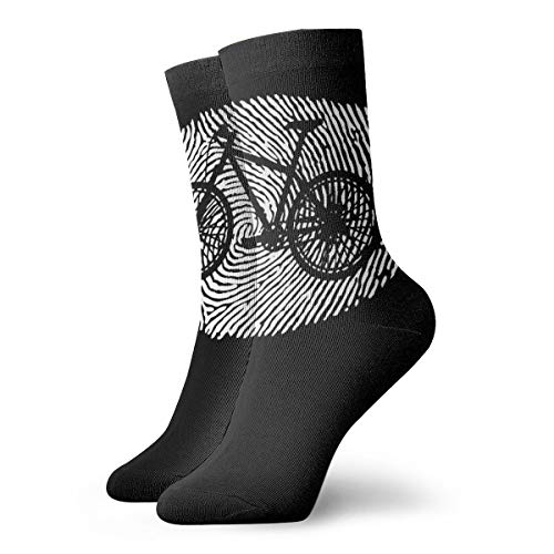 90ioup DNA Finger Mountain Bikers Short Crew Sock Athletic Ankle Dress Sock for Men Women