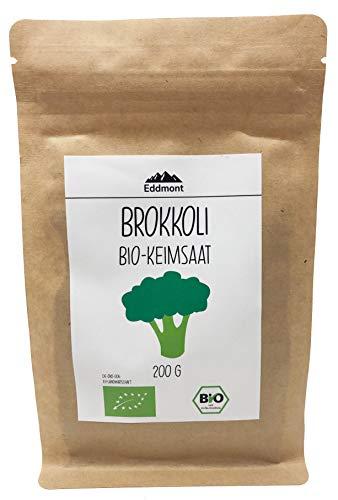 Eddmont Bio Brokkoli Keimsprossen 200 g   Sprossen Keimlinge Microgreens Samen