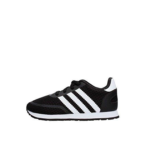 Adidas N-5923 El I, Zapatillas de Deporte Unisex niño, Negro (Negbás/Ftwbla/Negbás 000), 24 EU