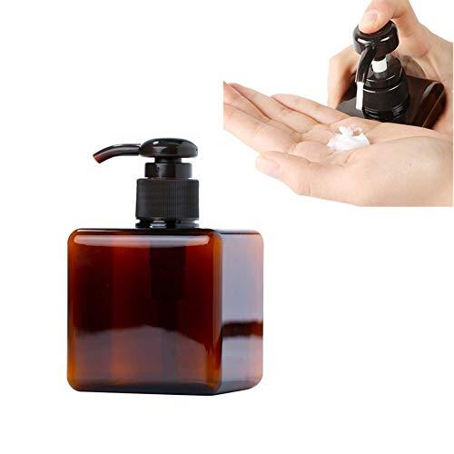 TUANTALL Dosificador Jabon Baño Dispensador Jabon Baño Recargable vacía La Loción de los cosméticos Botella de Bomba de loción vacía 250ml