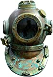 Vintage Rare Antique Diving Helmet | Mark V Divers Diving Heavy Helmet | deep Sea Divers Anchor Engineering Helmet