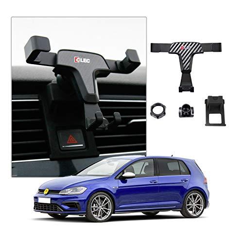 CDEFG Handyhalterung Auto Handyhalter 360° Drehbar für Golf 7 GTI R Auto Lüftung Navigation Zubehör