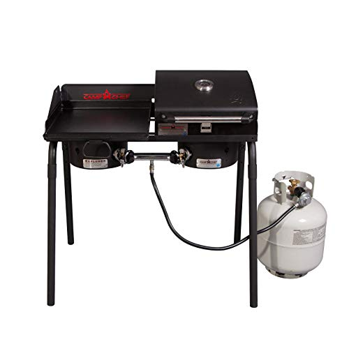 Camp Chef Tailgater grill griddle combo