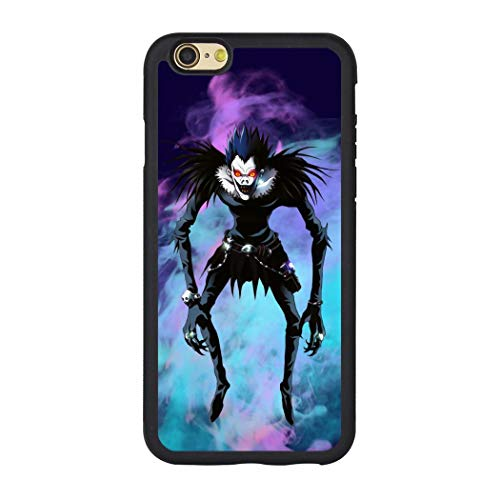 Death Note TPC Cases Apple iPhone 8 Case Apple iPhone 7 Hülle, Thermoplastisches Polyurethan Polycarbonat, Schwarz , Einheitsgröße