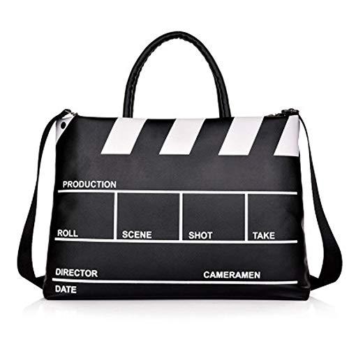 Laptop Tote Bag,multifunktions Arbeit Reise Einkaufen Laptoptasche,wasserabweisend Multi-Pocket Großer Kapazität Business Work,pu,14-16 Zoll,Black,14Inches